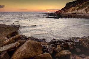 Evening Mood by the Sea, Spain, Europe by Klaus Neuner