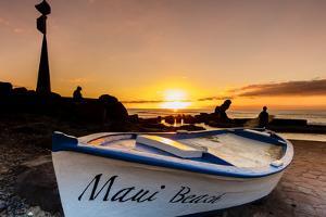 Evening Seaside, Maui Beach, Las Americas, Tenerife, Canary Islands, Europe by Klaus Neuner