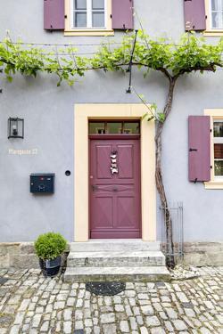 Facade, Iphofen, Bavaria, Germany, Europe by Klaus Neuner