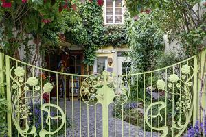 Gates and House Facade, Iphofen, Bavaria, Germany, Europe by Klaus Neuner