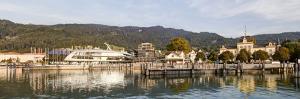 Port, Ship 'Sonnenkonigin', Post Office, Bregenz, Vorarlberg, Lake Constance, Austria, Europe by Klaus Neuner
