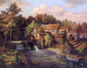 The Old Mill by Klaus Strubel