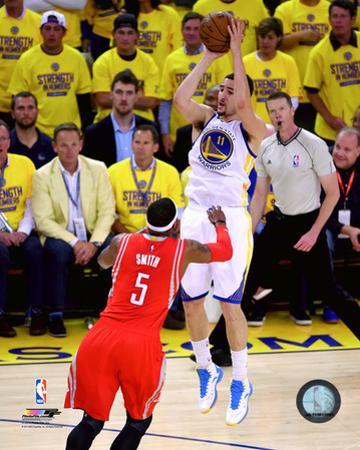 Klay Thompson 3 Point Shot from Game 5 of the 2015 Conference Finals