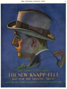 Knapp-Felt, Magazine Advertisement, USA, 1920