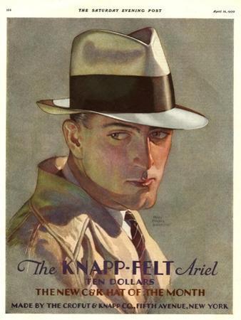 Knapp-Felt, Magazine Advertisement, USA, 1930