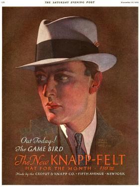 Knapp-Felt, Magazine Advertisement , USA, 1930