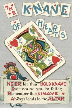 Knave of Hearts Card