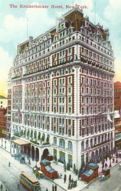 Knickerbocker Hotel, New York City