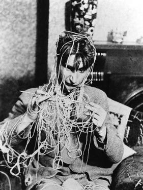 Knitting Spaghetti