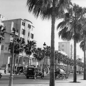 Straße in Alexandria, 1939 by Knorr & Hirth