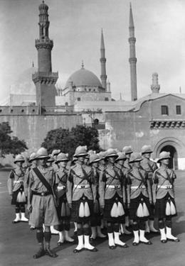 British Soldiers in Cairo, Ca. 1930's by Knorr Hirth Süddeutsche Zeitung Photo