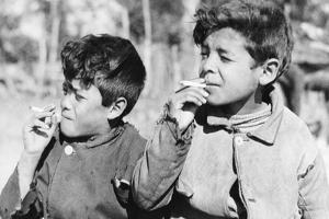 Children in Argentina, 1938 by Knorr Hirth Süddeutsche Zeitung Photo