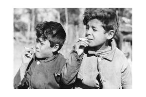 Children in Argentina, 1938 by Knorr Hirth Süddeutsche Zeitung Photo