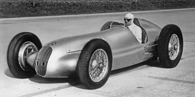 Mercedes-Benz 3-L-Formula Race Car W 154, 1940 by Knorr Hirth Süddeutsche Zeitung Photo