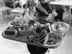 Viennese Waitress by Knorr Hirth Süddeutsche Zeitung Photo