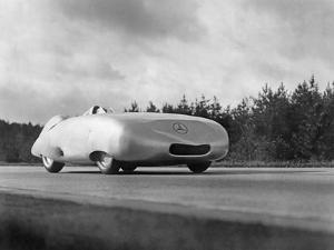 "W25 ""Rekordwagen"" by Mercedes-Benz, 1939 by Knorr Hirth Süddeutsche Zeitung Photo"