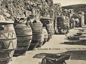 Knossos - Crete - Large Storage Jars