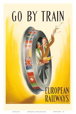 European Railways - Go By Train