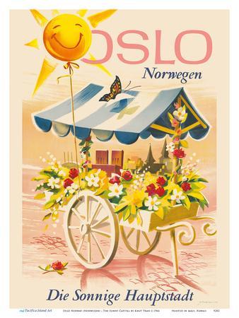 Oslo Norway (Norwegen) - The Sunny Capital (Die Sonnige Hauptstadt)