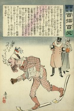 General Kuropatkin as Town Crier by Kobayashi Kiyochika