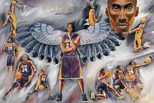 Kobe Bryant Collage - Los Angeles Lakers
