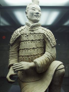 Mausoleum of the First Qin Emperor Housed in the Museum of the Terracotta Warriors, China by Kober Christian