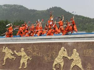 Shaolin Temple, Shaolin, Birthplace of Kung Fu Martial Art, Henan Province, China by Kober Christian