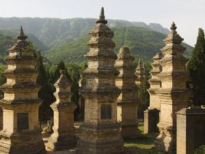 Shaolin Temple, the Birthplace of Kung Fu Martial Arts, Shaolin, Henan Province, China by Kober Christian