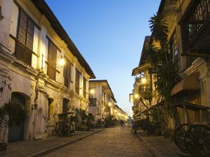 Spanish Old Town, Vigan City, Ilocos Province, Luzon Island, Philippines, Southeast Asia by Kober Christian