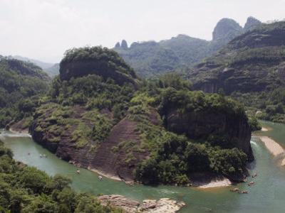 Tianyou Feng Heavenly Tour Peak in Mount Wuyi National Park, Fujian Province, China by Kober Christian