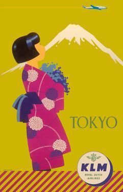 Tokyo Japan - KLM Royal Dutch Airlines by Koen van Os