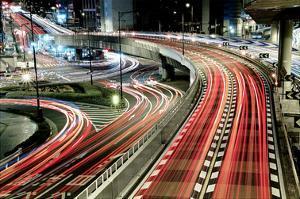 Chaotic Traffic by Koji Tajima
