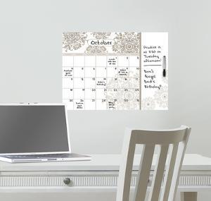 Kolkata Dry Erase Calendar