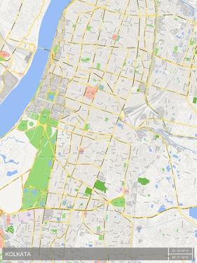 Kolkata, India Map