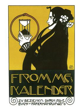 Fromme's Kalender by Koloman Moser