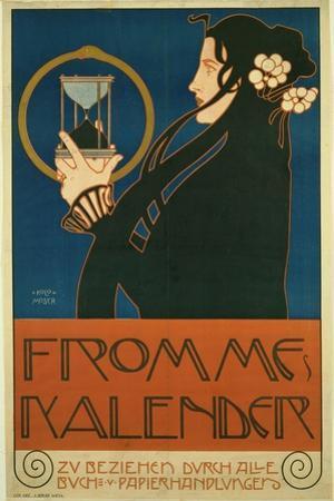 Frommes Kalender, 1903 by Koloman Moser