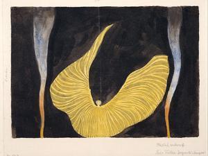 Loïe Fuller in the Dance the Archangel, 1902 by Koloman Moser