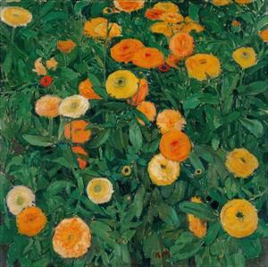 Marigolds by Koloman Moser