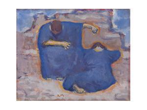 Mourning Women, C. 1913 by Koloman Moser
