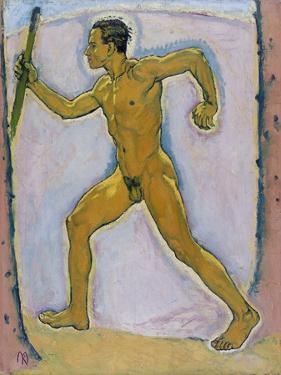 The Wayfarer (The Wanderer) by Koloman Moser