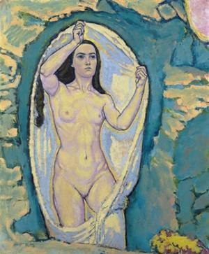 Venus in the Grotto by Koloman Moser