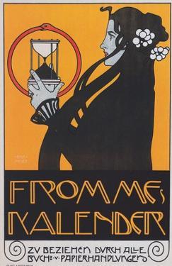Calendar, 1899 by Kolomon Moser
