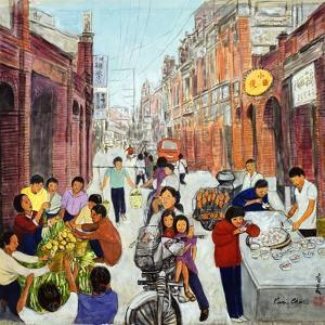 Busy Morning, 1993 by Komi Chen