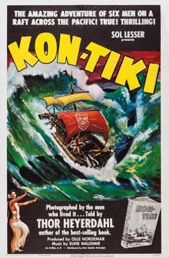 Kon-Tiki, Norwegian Poster, 1950