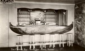 Kona Inn Cocktail Bar, Kona, Hawaii