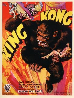 """Kong, 1933, """"King Kong"""" Directed by Merian C. Cooper, Ernest B. Schoedsack"""