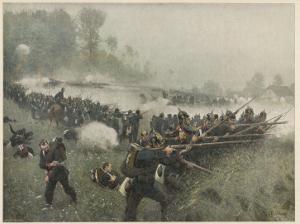 Koniggratz Battle 1866