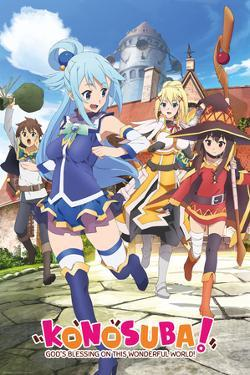 Konosuba- Key Art