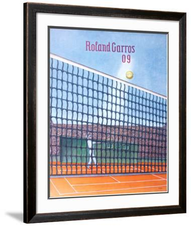 2009 Roland Garros by Konrad Klapheck