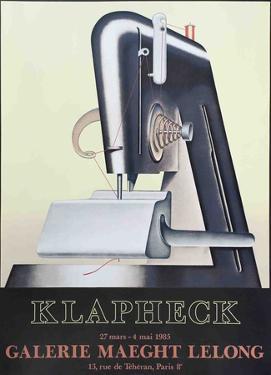 Le Sphynx by Konrad Klapheck